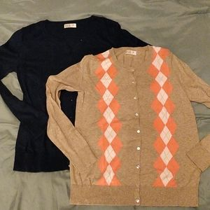 2 Old Navy Maternity Cardigans
